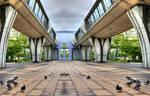 Stock Futuristic Building I (HDR)