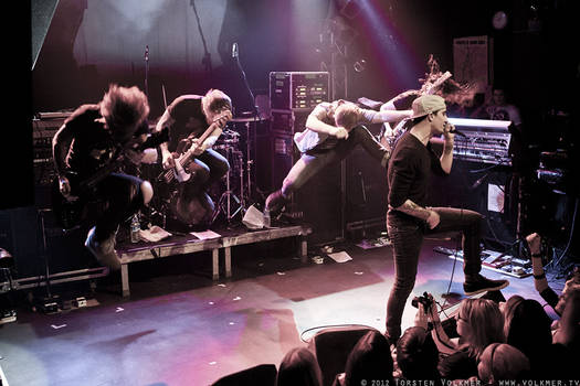 We Came As Romans - 2012-01-25 - Hamburg, Germany