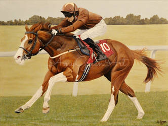 Top Notch Tonto by AmyGreenArt