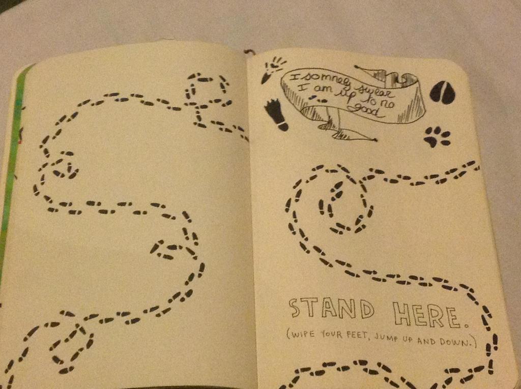 Wreck This Journal Stand Here By Mazao Ezlyann On Deviantart