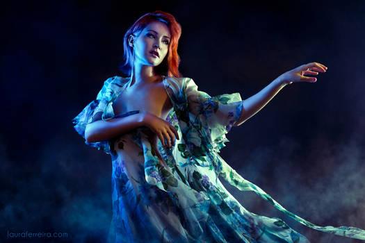 Portrait with dress