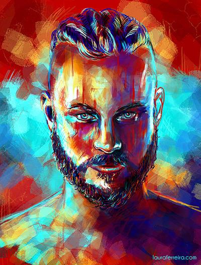 Ragnar Lothbrok by Laura-Ferreira