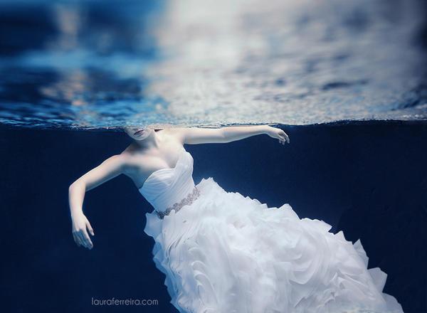 Swimming Bride by Laura-Ferreira