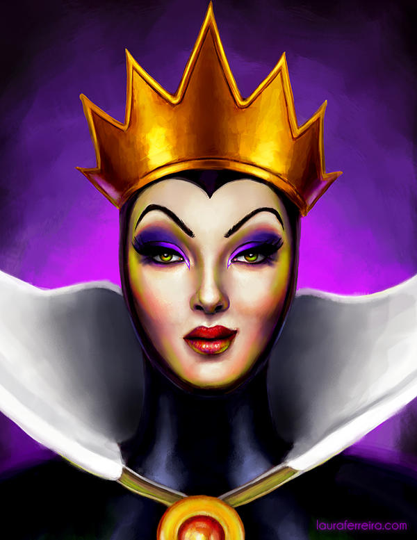 Disney Evil Queen by Laura-Ferreira on DeviantArtDisney Evil Queen Art