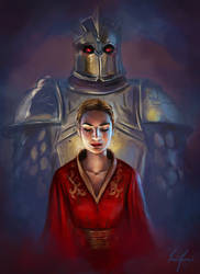 Cersei and The Mountain by Laura-Ferreira