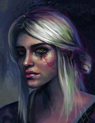 Ciri by Laura-Ferreira