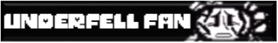 Underfell fan button