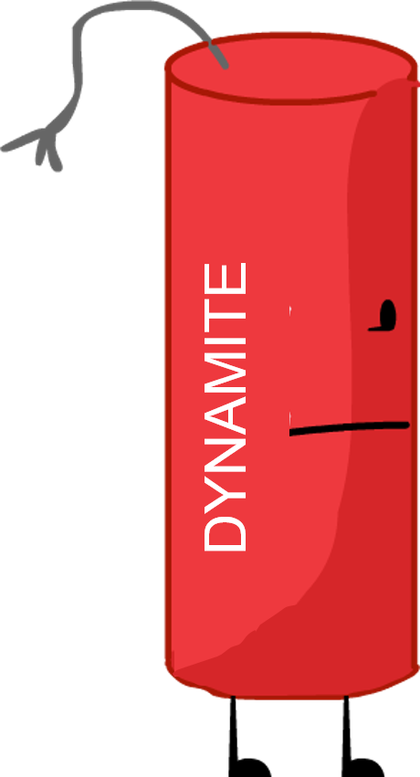 Dynamite (recommended character from BFDI) by BrownPen0 on