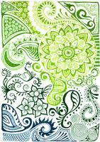 Green sea design by yael360