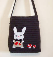 white rabbit bag by yael360