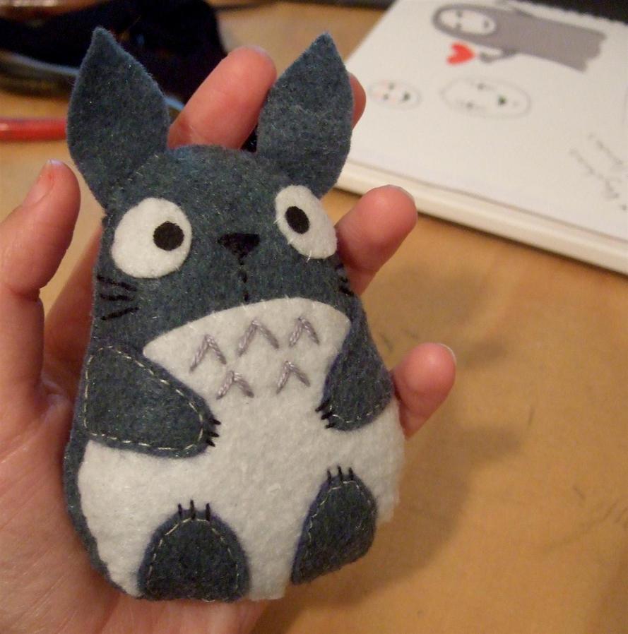 Totoro plush by yael360 on DeviantArt