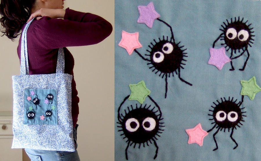 soot sprites bag by yael360