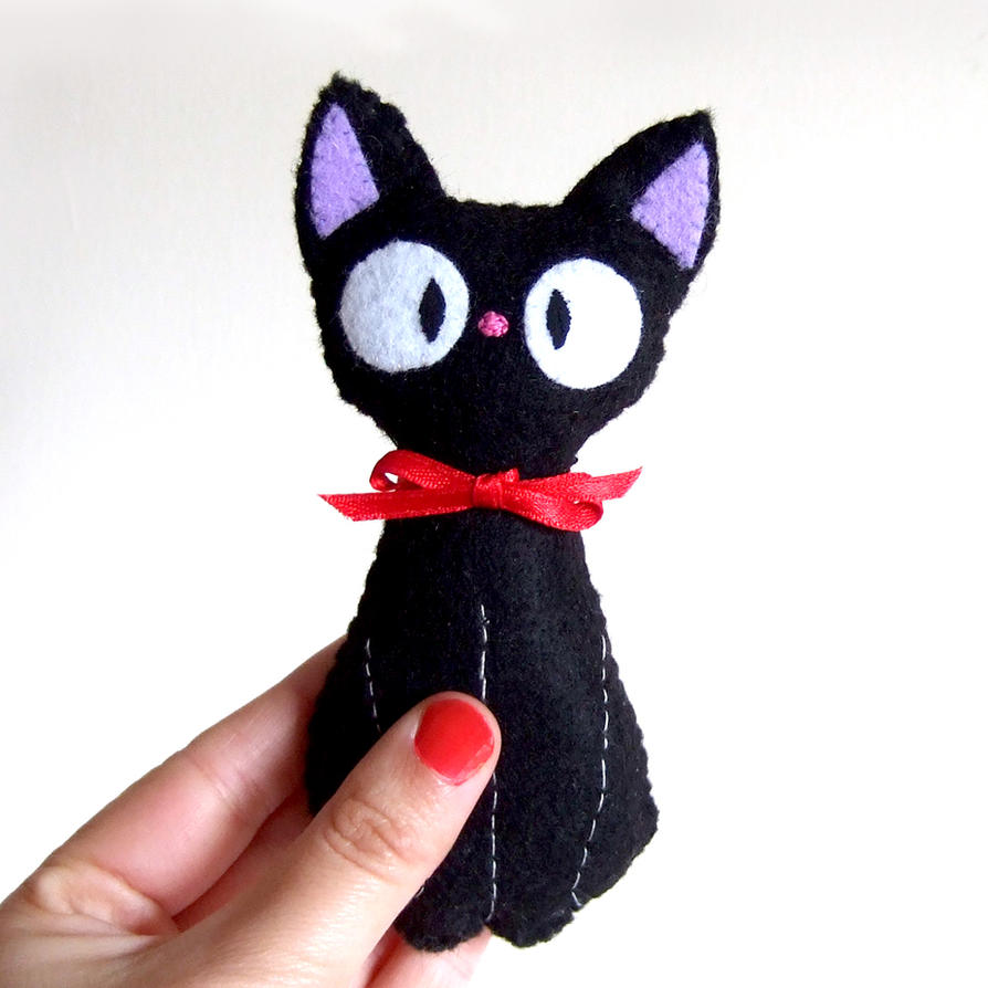 Jiji plushie from kiki's delivery service updated by yael360