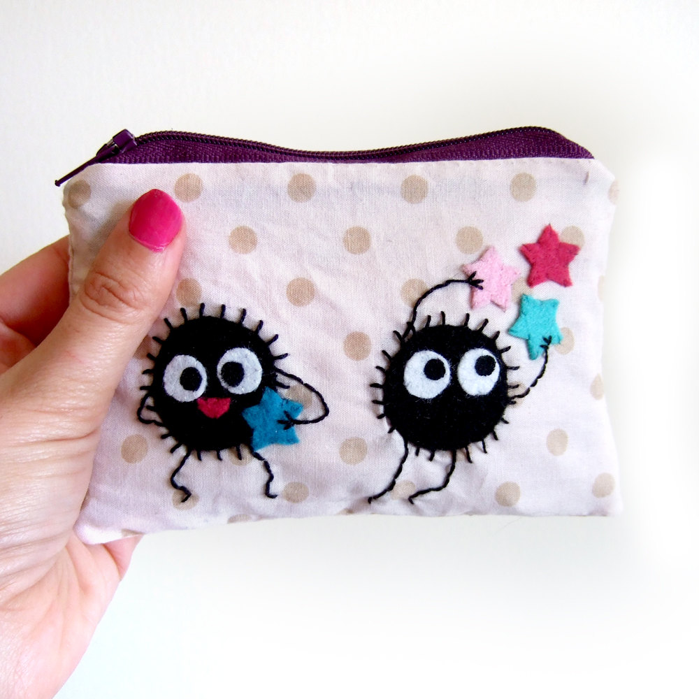 Catch the stars - soot pouch by yael360