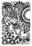 Classic henna style art