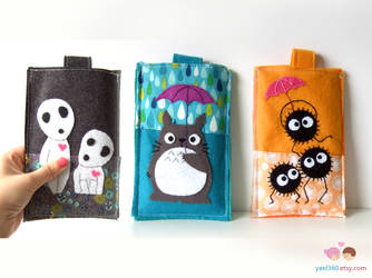 Studio ghibli smartphone cases by yael360