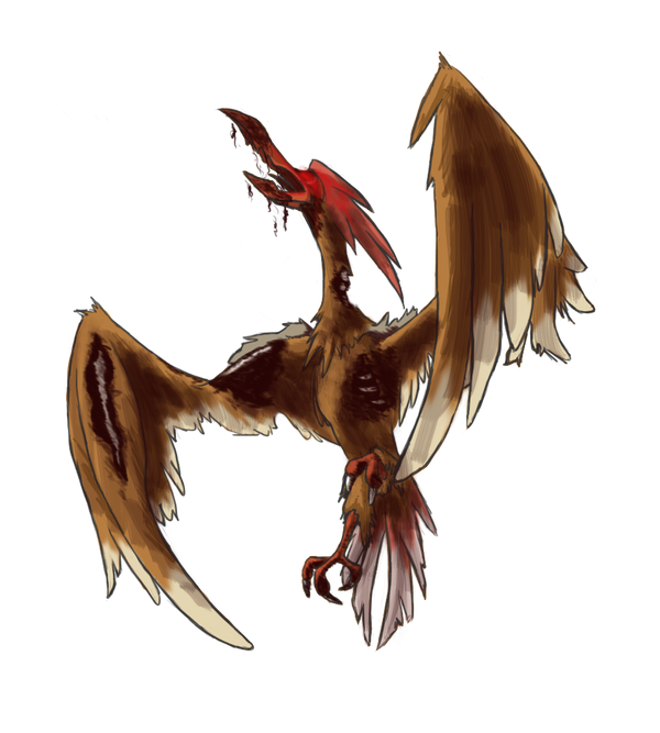 Free to Use Pokemon Images Infected_fearow_by_birdmaddgirl-d3nggi5