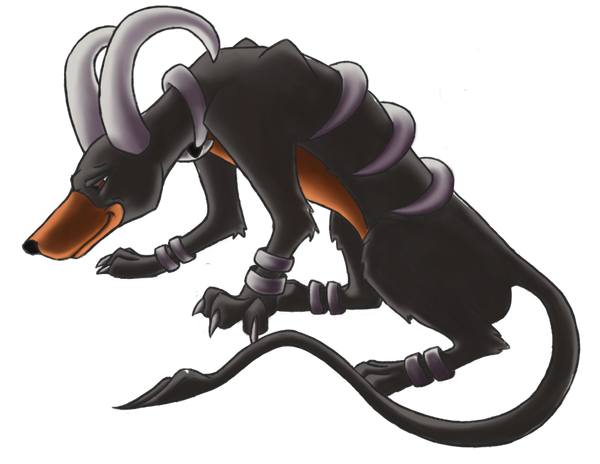 Gift art corner Dante_the_houndoom_by_birdmaddgirl-d4iaef0