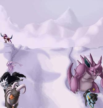 Snowpoint Team by BlakkFox