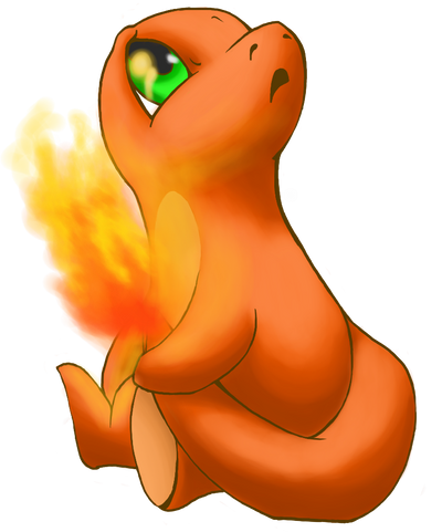 Mara the Charmander and Ashes the Charizard Mara_the_carmander_by_birdmaddgirl-d4oocuy