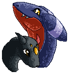 Locke and Crusher Sprite by ColorofAshes