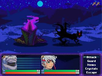 Test Battle Screen by BlakkFox
