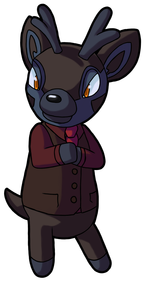 Animal Crossing Hannibal by BlakkFox