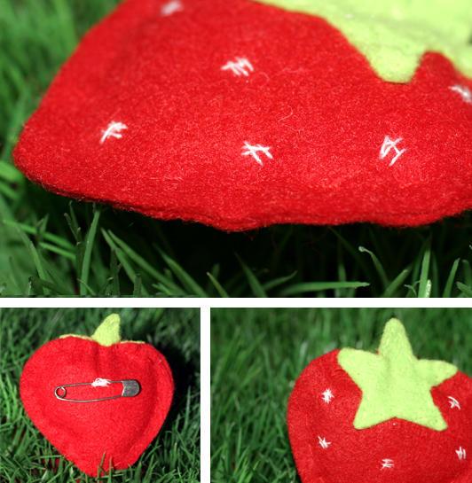 I heart strawberries by etoilehypnotic
