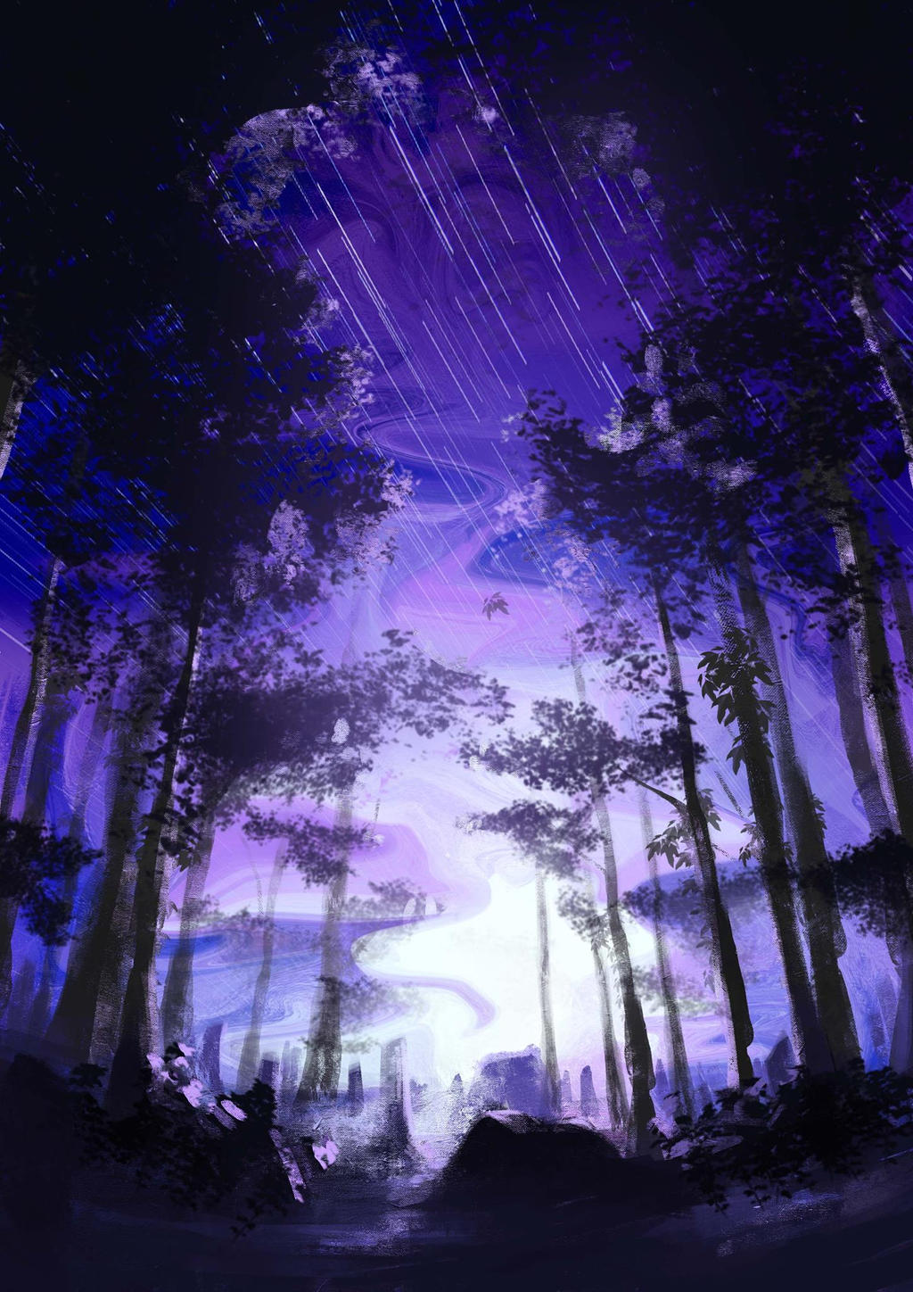 Starry Forest by namDs666