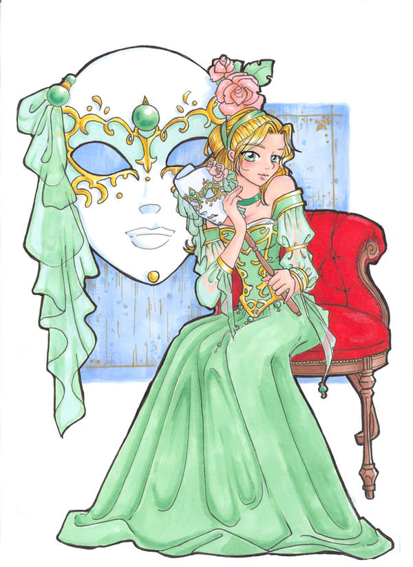 Esmeralda by BlueAlhena