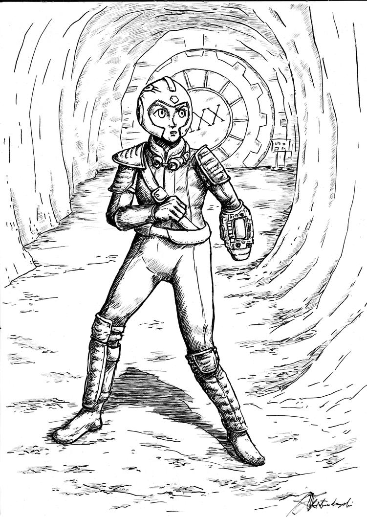 Megaman Wanderer by Argamenax