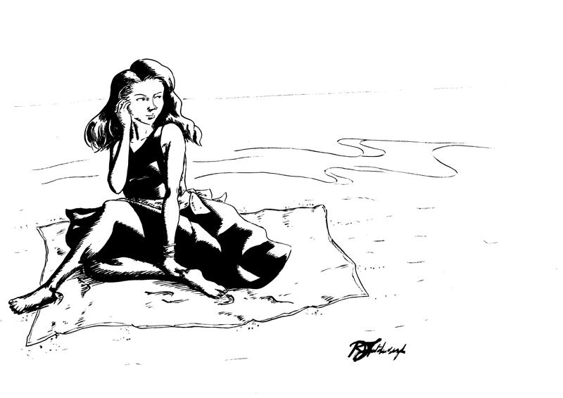 Summer Lady by Argamenax
