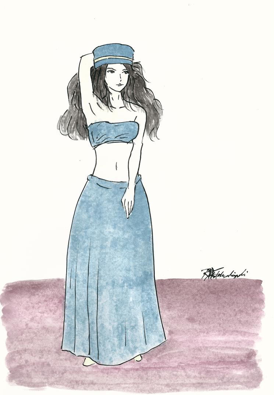 Summer Lady 4 by Argamenax