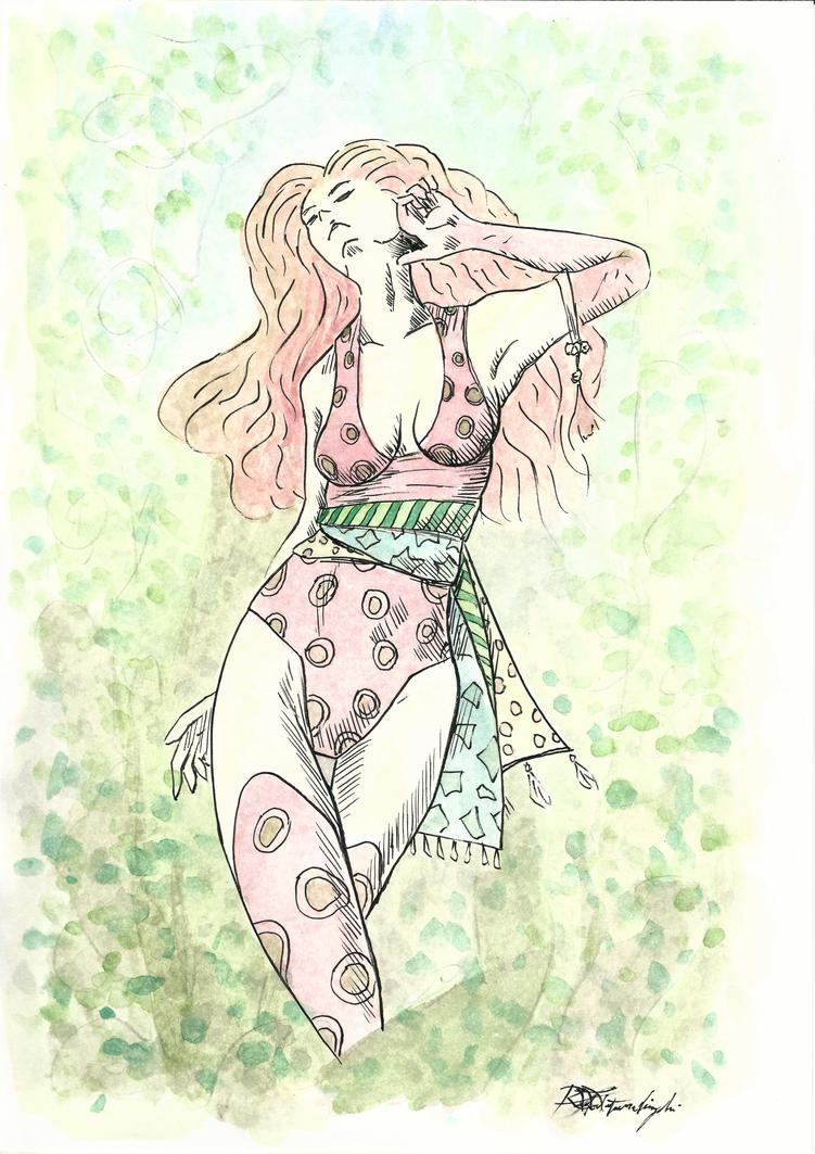 Summer Lady 3 by Argamenax