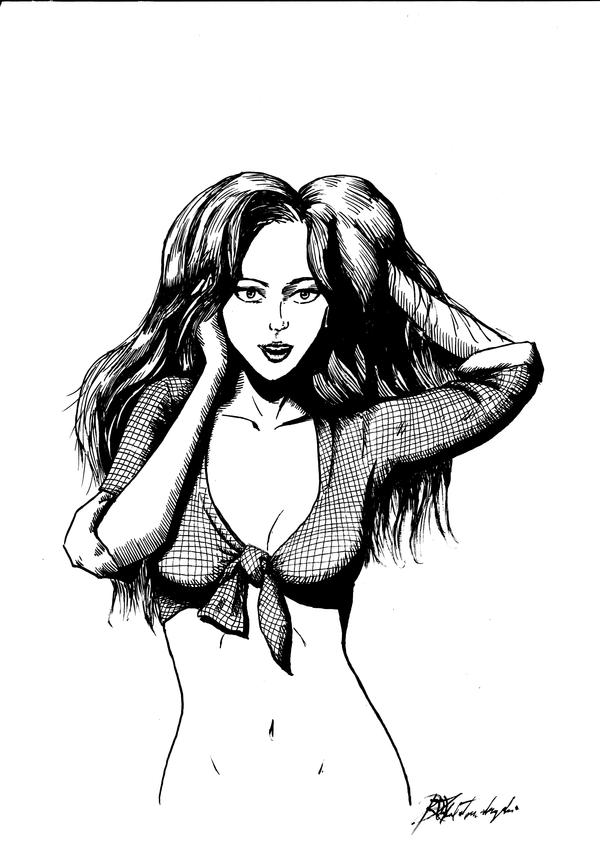 Summer Lady 2 by Argamenax