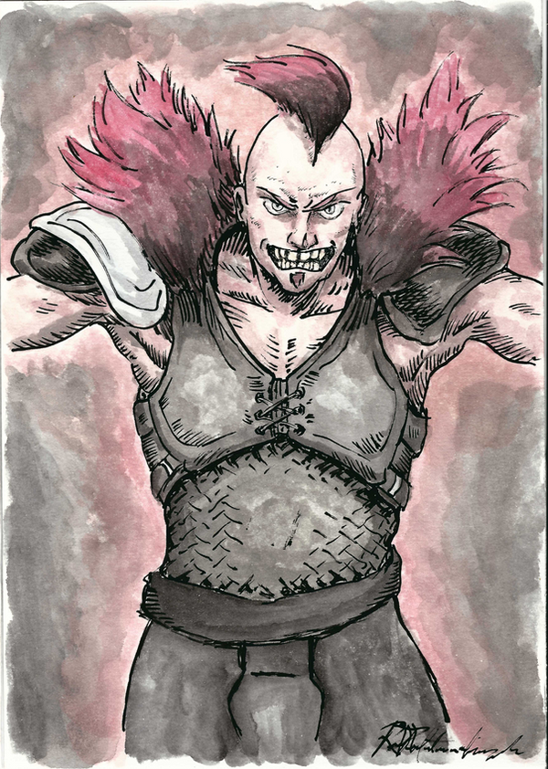Mad Max Raider by Argamenax