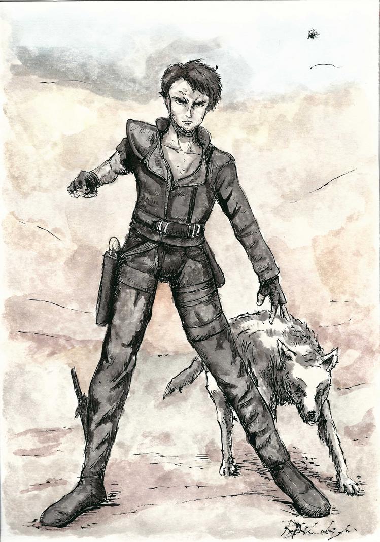 The Road Warrior by Argamenax