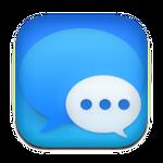 Big Sur Messages Custom Icon for rocketdock