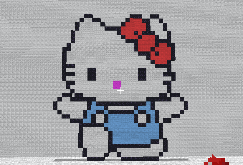 Minecraft - Hello Kitty by shadex00x
