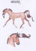 Henora - Character Sheet by Ehnala