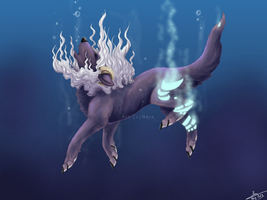 Under water by Ehnala