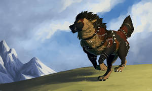 .: Half bear, half wolf, fully warrior :.