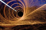 Steel Wool Fireball