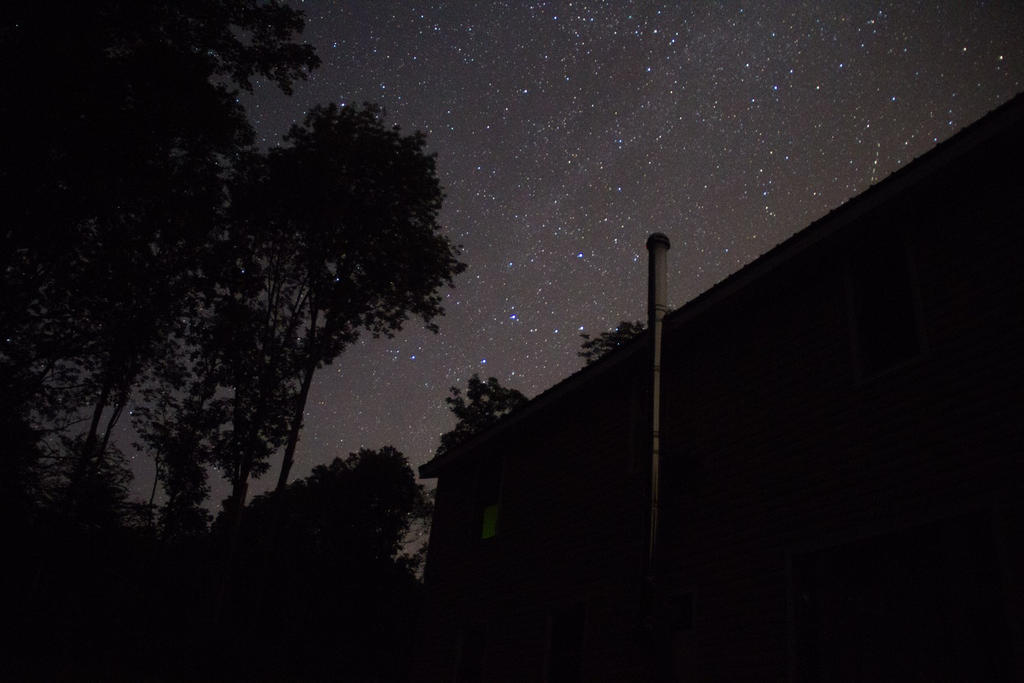 Astrophotography Try by JennDixonPhotography