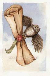 Pigwidgeon by WildWoodArtsCo