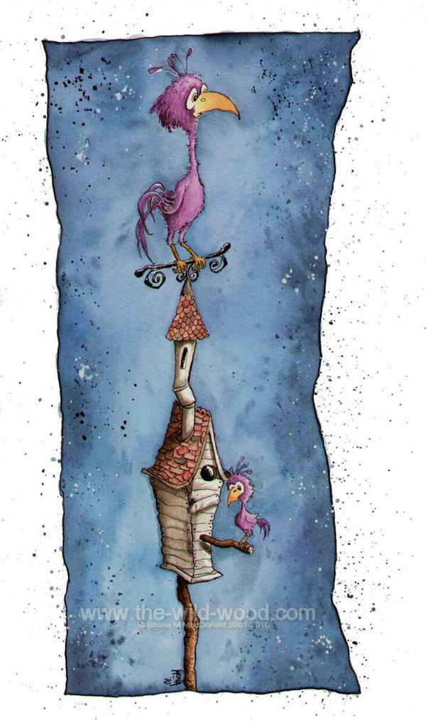 The Birdhouse by WildWoodArtsCo