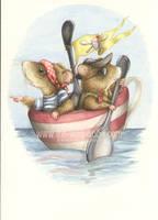 Cakes Ahoy by WildWoodArtsCo