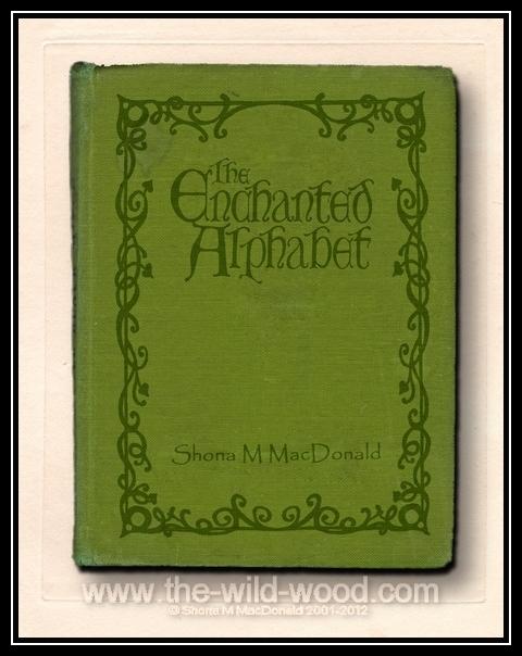 Enchanted Alphabet Cover by WildWoodArtsCo