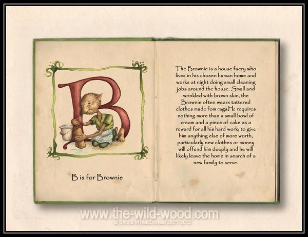 B is for Brownie by WildWoodArtsCo