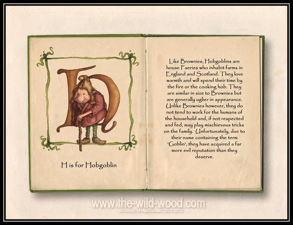 H is for Hobgoblin by WildWoodArtsCo